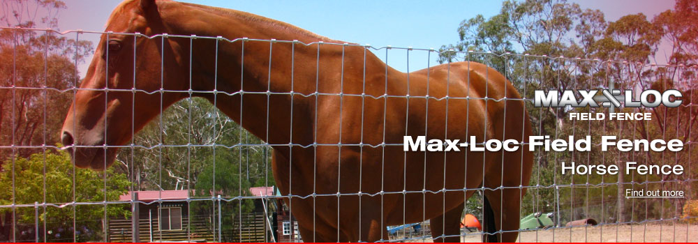 Max Loc Field Fence Horse Fence